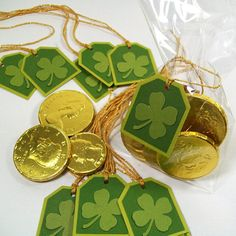 St. Patrick's Day Tags and Favor Bags
