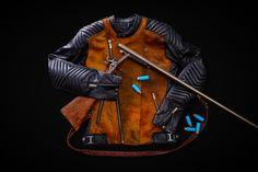 Kalup Jäger Jacket gun Riding Gear, Leather Jacket, Gun, Jackets, Style, Studded Leather Jacket, Down Jackets, Swag, Leather Jackets
