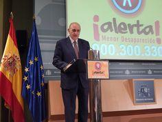 Intervención del ministro del Interior, Jorge Fernández Díaz, durante la presentación del sistema