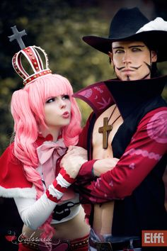 Cosplay of the Day: Perona and Mihawk (One Piece) Coser: Calssara and Elffi… Cosplay Anime, Epic Cosplay, Amazing Cosplay, Cosplay Outfits, Cosplay Girls, Kawaii Cosplay, One Piece Anime, Manga Anime, One Piece Cosplay