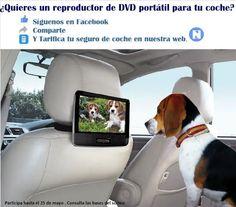¿Quieres un reproductor DVD Portátil para coche?  Para saber más sobre los coches no olvides visitar marcasdecoches.org