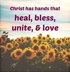 Christ can heal