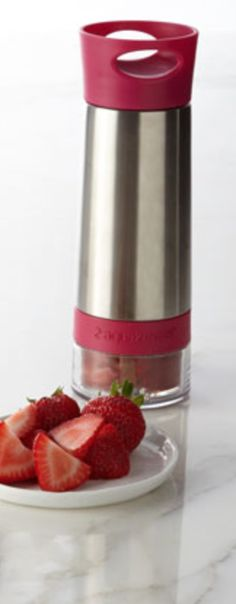 Infuse your water with fruit