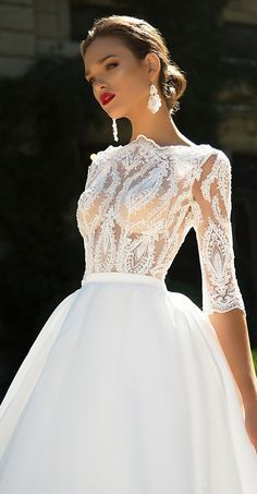 Milla Nova Bridal 2017 Wedding Dresses domiana2 / http://www.deerpearlflowers.com/milla-nova-2017-wedding-dresses/12/