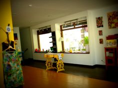 Interior nos primórdios da abertura :)