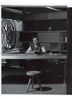 INTERNI - Charlotte Perriand in her Studio