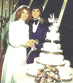 Donny and Debbie Osmond's wedding