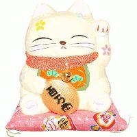 Maneki neko gatto della fortuna www.midorinegoziogiapponese.com/maneki-neko