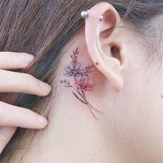Модные тату для девушек – фото, идеи татуировки для девушек, маленькие тату
