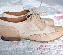 Inspiring image beige, beige shoes, fashion, floral, oxfords #198190 - Resolution 500x334px - Find the image to your taste
