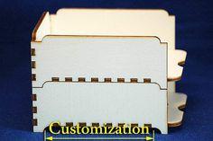 Stapelbare Binder Dokument Feld Halter Halter CNC schneiden Laser DXF CAD kuerzbar Dateimuster Linie cdr Svg Grafik digital Plan Vektor router von projectCNC(original template created with http://boxdesigner.frag-den-spatz.de)