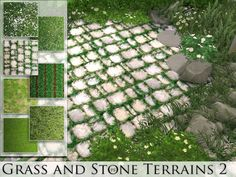 This set contains 7 terrain paints. Found in TSR Category 'Sims 4 Terrain Paints Sets'