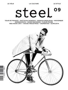 Steel / magazine cover / editorial design / magazine design / lay-out