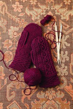 Knit Red Mittens by brooklyntweed, via Flickr