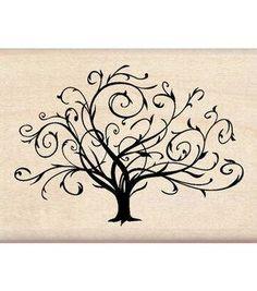 Inkadinkado Flourished Fall Tree Wood Stamp for Arts and Crafts, W x L Tatoo Tree, Tatoo Dog, Tatoo Henna, 1 Tattoo, Wrist Tattoo, Shoulder Tattoo, Tattoo Kids, Ankle Tattoo, Tattoos Familie