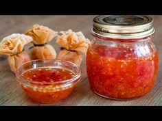 Cómo hacer Salsa de Chili dulce Casera | Kwan Homsai