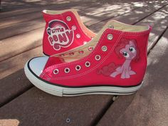 Custom Painted My Little Pony Friendship Is by LindseyRosesDesign, $99.00 My Little Pony Shoes, My Little Pony Friendship, Custom Paint, Converse, Trending Outfits, Unique Jewelry, Handmade Gifts, Sneakers, Diy