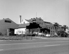 Holly Sugar Factory, Santa Ana, circa 1965 by Orange County Archives, via Flickr