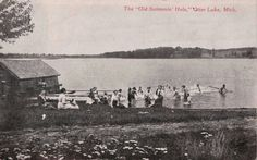 Old picture of Otter Lake