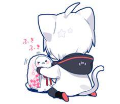 kobayashi-san chi no maid dragon elma chibi stiquer Gato Anime, Chibi Anime, Chibi Cat, Fanarts Anime, Anime Cat, Cute Chibi, Anime Guys, Neko Kawaii, Kawaii Anime Girl