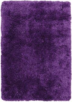 Rugs - Purple Fashion Shag Area Rug – 4' x 5'