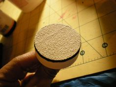 make your own bottlecap sander for your Dremel. Great for small sanding projects like jewelry