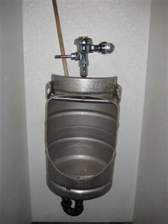 Idea's for a mancave ???? Would be perfect for our new mancave.. David wants to add a urinal for the men! lol