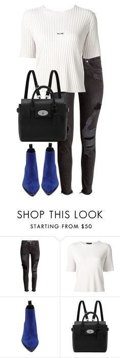"""""""Untitled #2750"""" by elenaday on Polyvore featuring The Row, Acne Studios and Mulberry"""