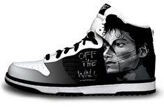 Michael Jackson Off the Wall Nike Sneaker