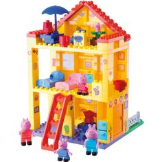 BIG PlayBIG Bloxx Peppa Pig - Peppa's huis pinkorblue.nl ♥ Ruim 40.000 producten online ♥ Nu eenvoudig online shoppen!