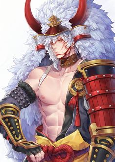 Lion of the Glacier Costume- Spike Seven Knights By WINTER