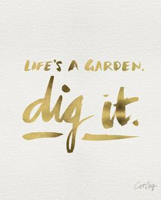 Dig It by Cat Coquillette inspirational quote word art print motivational poster black white motivationmonday minimalist shabby chic fashion inspo typographic wall decor Typography Quotes, Typography Prints, Typography Poster, Inspirational Posters, Motivational Posters, Tropical Art, All Quotes, Quotes White, Canvas Prints