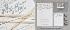 gallery of wedding invitations | coral pheasant | stationery + invitations + design