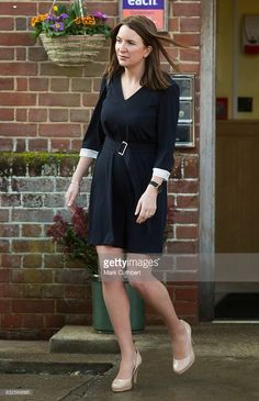 Rebecca Deacon during a visit by Catherine, Duchess of Cambridge to EACH to get an update on The Nook Appeal on January 24, 2017 in Quidenham, Norfolk. HRH is Royal Patron of EACH (East Anglia's Children's Hospices) and launched The Nook Appeal in 2014.