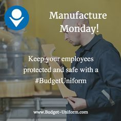 Keep your employees protected and safe with a #BudgetUniform