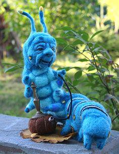 Oruga azul