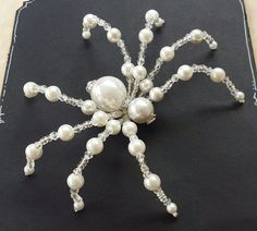 Second of two spider commissions for a returning customer. Beaded spider by PurpleDreamDesign