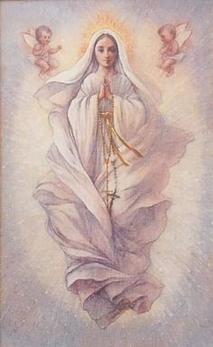 Assumption Divine Mother, Blessed Mother Mary, Blessed Virgin Mary, Catholic Art, Catholic Saints, Assumption Of Mary, Vintage Holy Cards, Christian Artwork, Queen Of Heaven