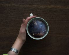 Are we witnessing the next level oflatte art? Maybe in the future! These coffee cup montages are the creations of Witchoria, a Brooklyn-based graphic designer with a big imagination. Although her images are not realistic or Photoshop perfect, they do enter a world of fantasy and exception as the concepts are very interesting. Also take...