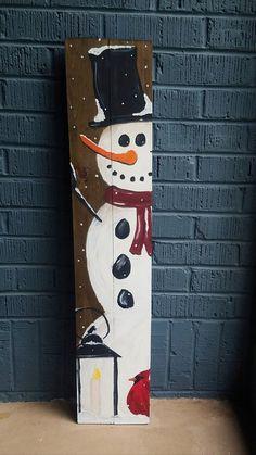 Wooden Christmas Crafts, Christmas Signs Wood, Farmhouse Christmas Decor, Christmas Projects, Christmas Art, Winter Wood Crafts, Christmas Ideas, Pallet Christmas, Christmas Drawing