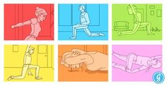Stretches for Desk Workers