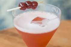 Cherry Bounce Cocktail