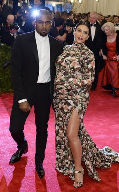 Kim Kardashian wears head-to-toe floral-print by Riccardo Tisci for Givenchy. Any thoughts?