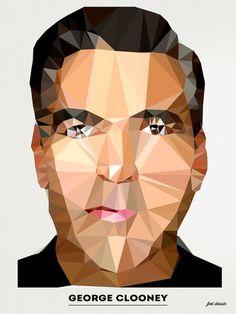 Polygonal Portraits Series