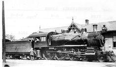 (Class G4).  Pennsylvania R.R.   4-6-0