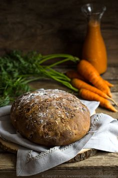 chleb marchwiowy, carrot bread, #chleb #bread #marchew #carrot