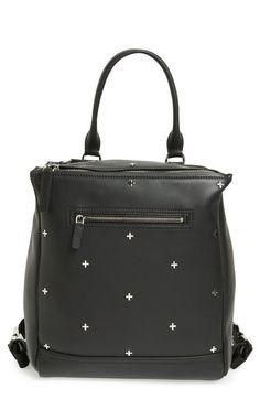 "Givenchy ""Pandora' Calfskin Leather Backpack"