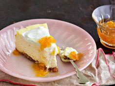 Peach-Bourbon Cheesecake Recipe | Food Republic