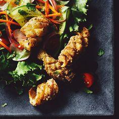 Lao-Style Calamari Salad