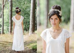 Neue Brautmode 2016 von Soeur Coeur   Friedatheres.com Kleider: Soeur Coeur Foto: Hanna Witte Haare & Makeup: Agnes Trzepizur